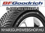 Bf goodrich - G-GRIP ALL SEASON 2 négyévszakos gumik