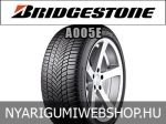 Bridgestone - A005E négyévszakos gumik