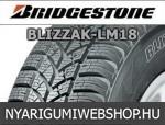 Bridgestone - Blizzak LM18 téligumik