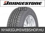 Bridgestone - D33A nyárigumik