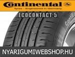 CONTINENTAL ContiEcoContact 5 165/70R14 - nyárigumi - adatlap