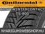 CONTINENTAL ContiWinterContact TS 800 155/60R15 - téligumi - adatlap