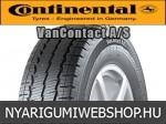 Continental - VanContact A/S négyévszakos gumik