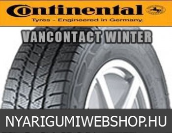 CONTINENTAL - VanContact Winter - téligumi