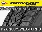 DUNLOP SP Winter Sport M3 205/55R16 - téligumi - adatlap