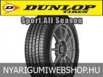 Dunlop - SPORT ALL SEASON négyévszakos gumik