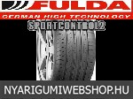 FULDA SPORTCONTROL 2 225/40R18 - nyárigumi - adatlap