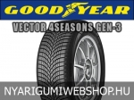 Goodyear - VECTOR 4SEASONS GEN-3 négyévszakos gumik