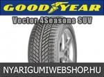 Goodyear - VECTOR 4SEASONS SUV négyévszakos gumik
