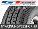 GT RADIAL MAXMILER-X 145R12 - nyárigumi - adatlap