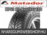 Matador - MP62 ALL WEATHER EVO négyévszakos gumik