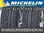 MICHELIN Pilot Alpin PA4 GRNX 245/45R17 - téligumi - adatlap