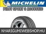 Michelin - PILOT SPORT 3 ACOUSTIC nyárigumik
