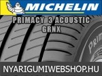 Michelin - PRIMACY 3 ACOUSTIC GRNX nyárigumik