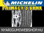 MICHELIN PRIMACY 3 GRNX 205/50R17 - nyárigumi - adatlap