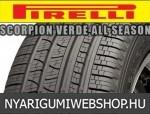 Pirelli - SCORPION-VERDE ALL SEASON négyévszakos gumik