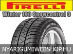 Pirelli - Winter 190 Snowcontrol 3 téligumik