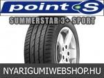 POINT-S SUMMERSTAR 3+ SPORT 205/65R15 - nyárigumi - adatlap