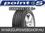 POINT-S SUMMERSTAR 3+ 185/60R15 - nyárigumi - adatlap