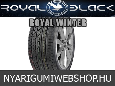 ROYAL BLACK - Royal Winter - téligumi - 185/60R14 - 82T - SZGK.