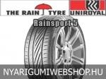 UNIROYAL RainSport 5 225/40R18 - nyárigumi - adatlap